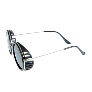 Ochelari de soare negri cu model lateral