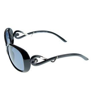 Ochelari de soare cu brate negre cu model