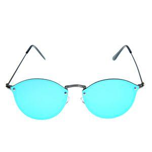 Ochelari de soare cu lentile turcoaz