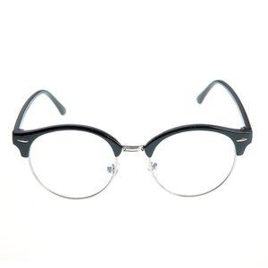 Ochelari de soare cu lentila rotunda