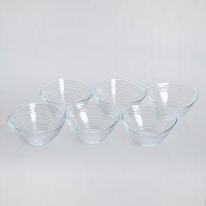 Set 6 boluri aperitive din sticla