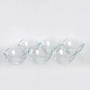 Set 6 cupe de inghetata din sticla 310ml