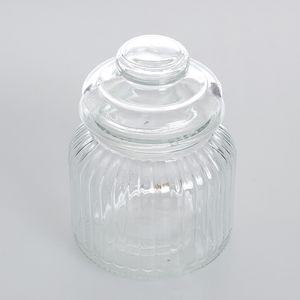 Borcan din sticla pentru depozitare
