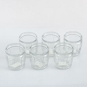 Set 6 pahare din sticla 415ml