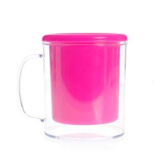 Suport roz pentru creioane