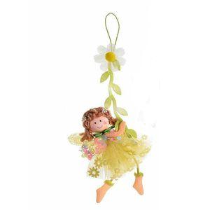 Agatatoare zana galbena cu flori