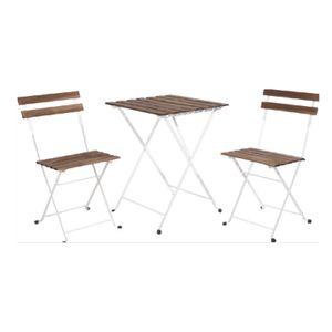 Set pentru gradina masa cu 2 scaune