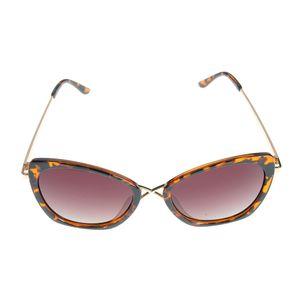 Ochelari de soare cu design auriu