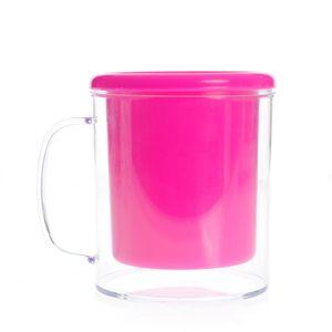 Suport roz pentru pixuri si creioane