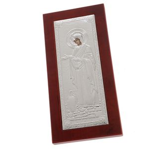 Icoana cu Fecioara Maria 11x22 cm