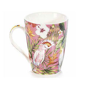 Cana ceramica cu print exotic 450 ml