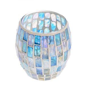 Suport mozaic albastru