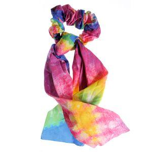 Elastic de par cu panglici multicolore