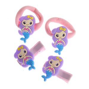 Set 4 accesorii de par cu sirene