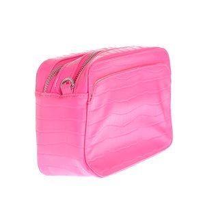 Geanta crossbody roz neon