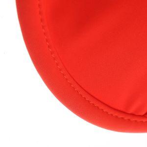 Sutien de baie rosu cu bretele