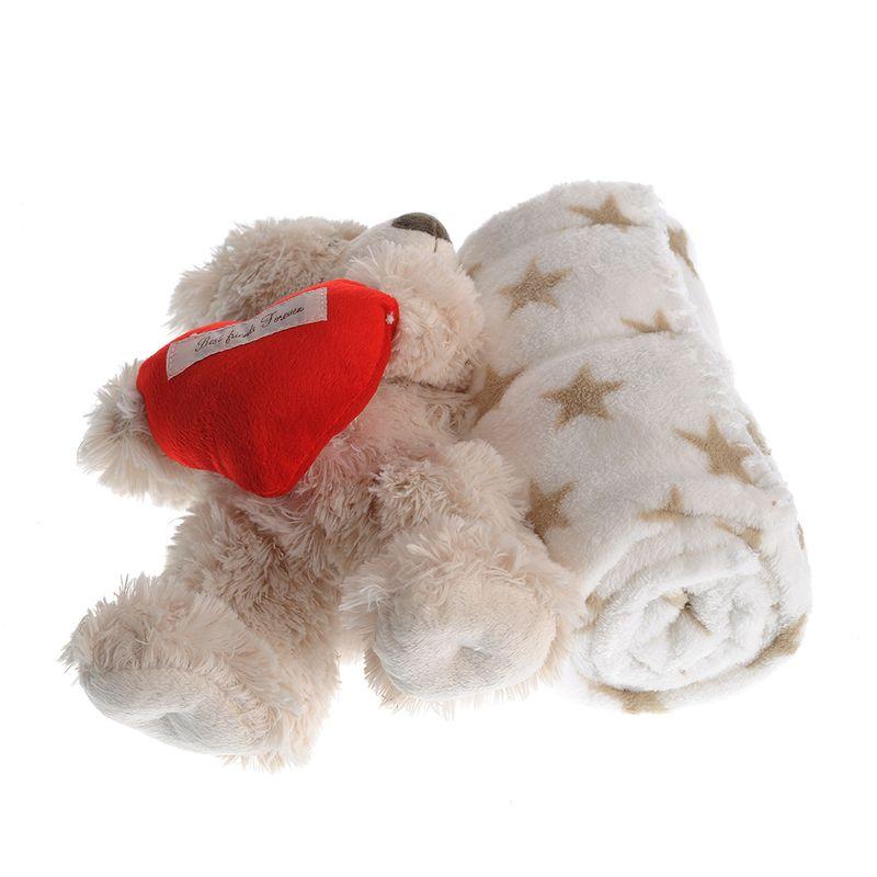 Ursulet-alb-cu-paturica