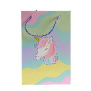 Punga cadou pentru copii cu unicorn  30x20cm
