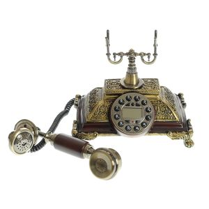 Decoratiune telefon cu aspect antic
