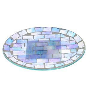 Savoniera tip mozaic nuante de mov  15x12 cm