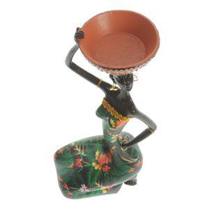 Statueta femeie africana 22 cm