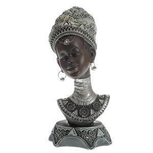 Statueta africana bust feminin 25 cm