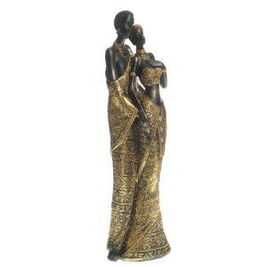 Statueta cuplu african 35 cm