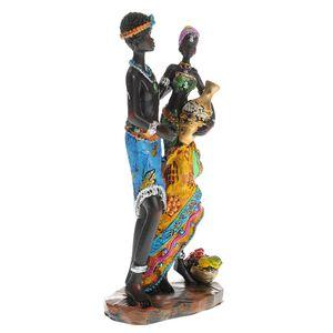 Statueta cuplu african 22 cm