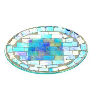 Savoniera rotunda  mozaic 15x12 cm