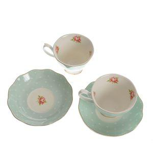 Set ceramica 2 cesti cu farfurii