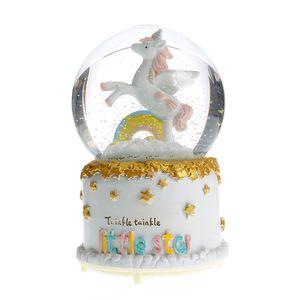 Glob muzical cu unicorn