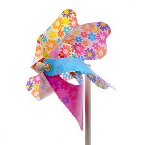 Morisca de vant multicolora 45 cm