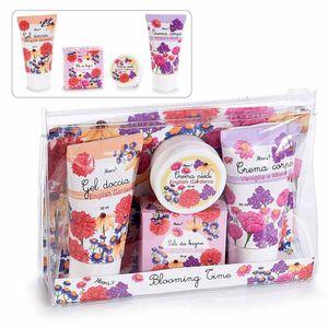 Set 4 cosmetice pentru baie cu aroma florala