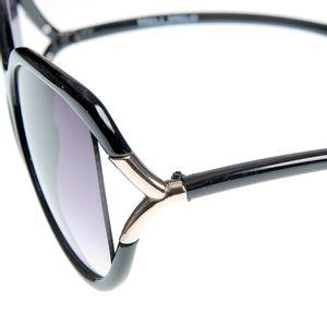 Ochelari de soare cu detalii aurii UV400