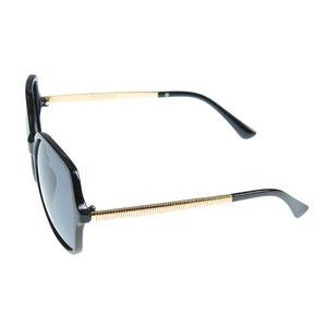 Ochelari de soare polarizati cu brate aurii