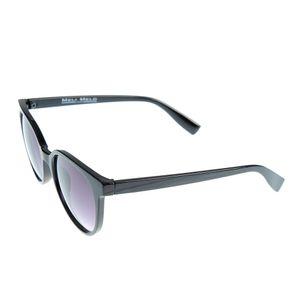 Ochelari de soare rotunzi cu rama neagra UV400