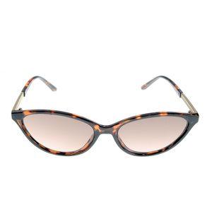 Ochelari de soare cat-eye cu rama animal print
