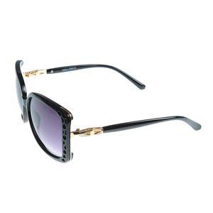 Ochelari de soare cu lentile in degrade si rama neagra