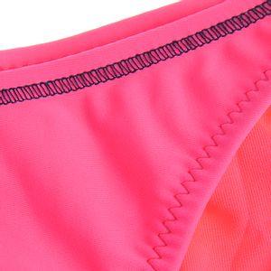 Slip de baie roz cu prindere laterala
