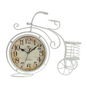 Ceas decorativ bicicleta 30x27 cm