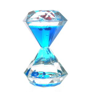 Clepsidra albastra forma diamant