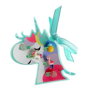 Set unicorn cu 5 inele diferite
