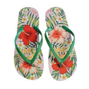 Papuci multicolori Summer Escape