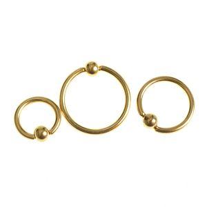 Set 3 piercinguri tip cercuri