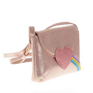 Geanta de umar roz cu inima
