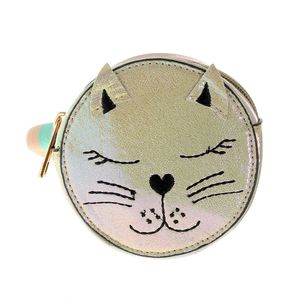 Borseta rotunda model pisica