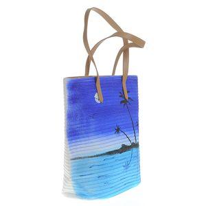 Geanta de plaja cu model pictat