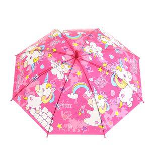 Umbrela roz cu Unicorni