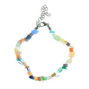 Bratara cu pietre multicolore