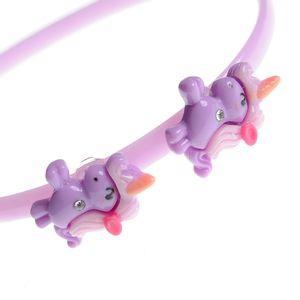 Bentita roz cu doi unicorni